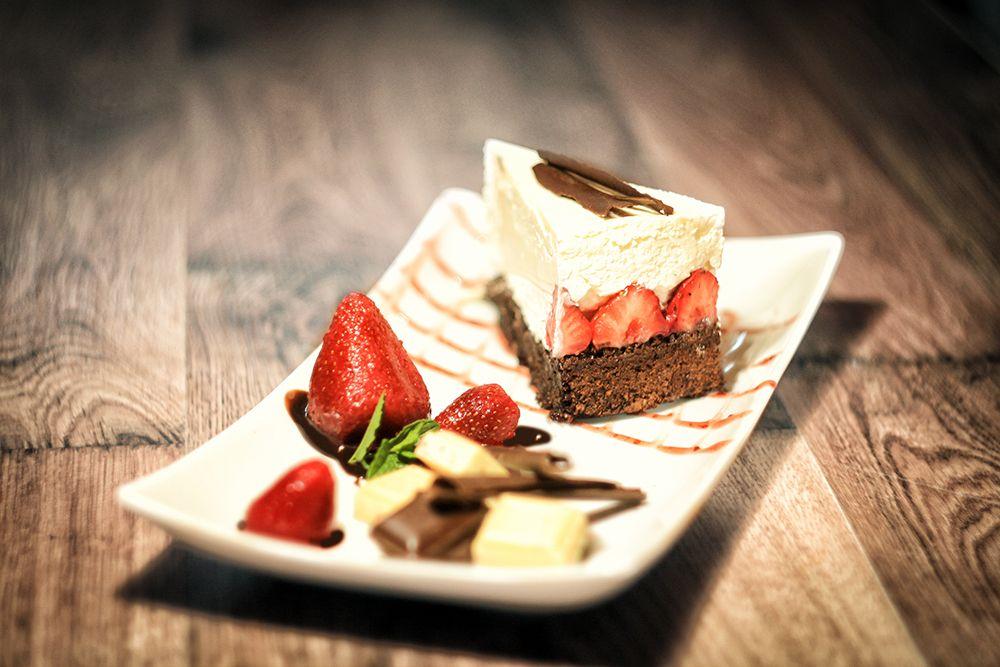 Brownies tvarohový